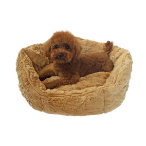 Dog Bed - Dog Bed Shell Caramel