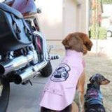 Dog Coats - Biker Dawg Motorcycle Dog Jackets Pink