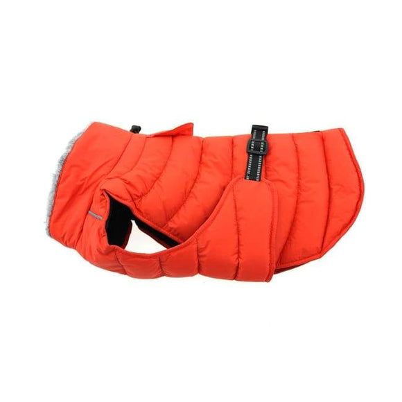 Dog Coats - Dog Coat Extra Warm Coats Alpine Extreme Cold Weather Puffer Coat Orange