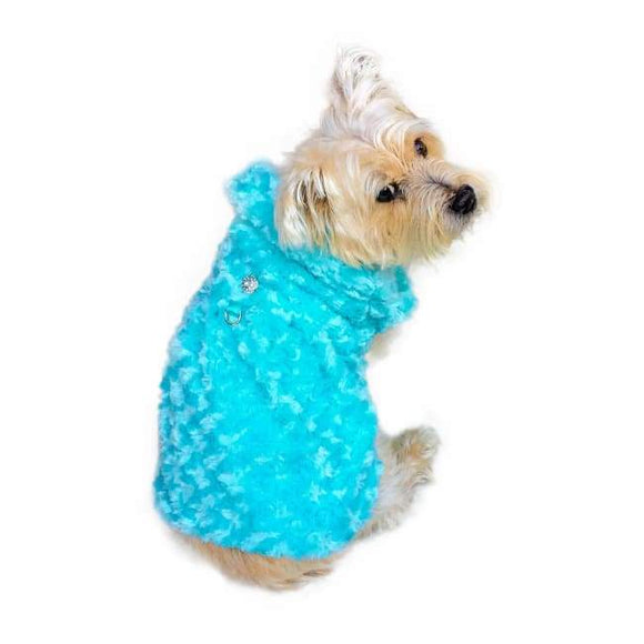 Dog Coats - Shop Til You Drop Rosebud Dog Coat Seafoam