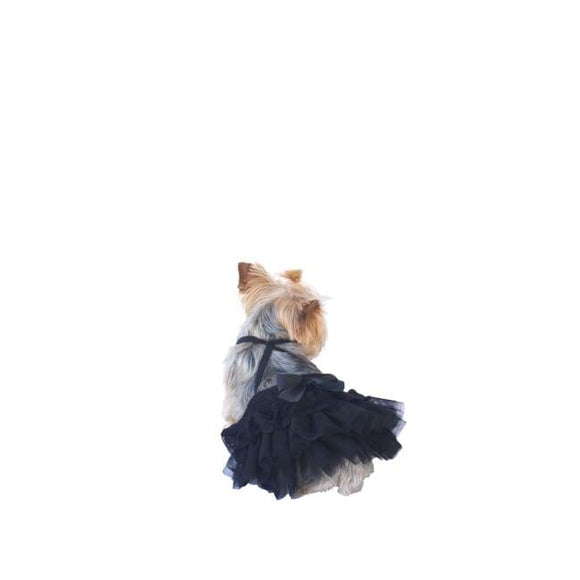 Dog Dresses - Cinema Skirt Black
