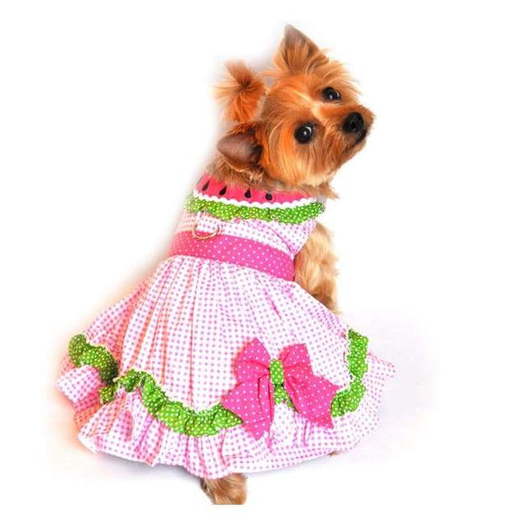 Dog Dresses - Dog Dresse Boutique Watermelon Dog Dress