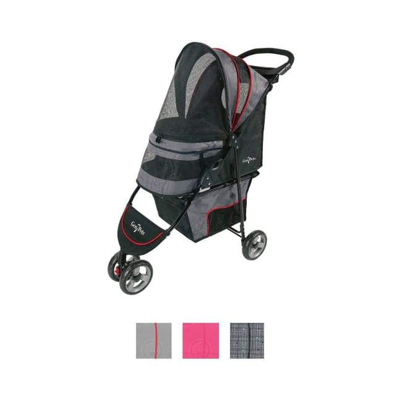 Dog Stroller - Dog Stroller Regal Gray Shadow
