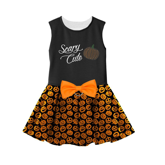 Halloween Dog Dress Scary Cute Pumpkin Pattern