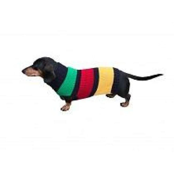 Warm Dog Sweaters - Dog Sweater Color Block Stripes New