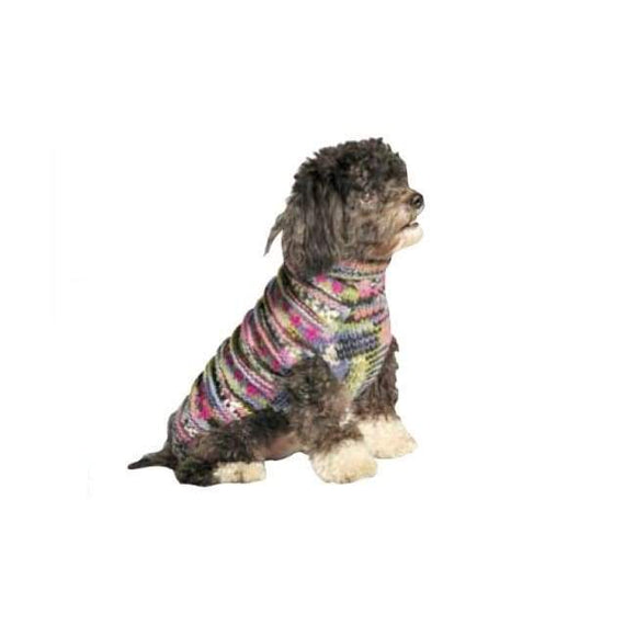 Warm Dog Sweaters - Dog Sweater Purple Woodstock Dog Sweater