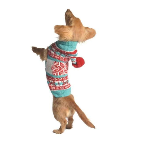 Warm Dog Sweaters - Dog Sweaters Peppermint Hoodie Christmas Sweater