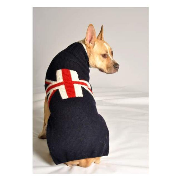 Warm Dog Sweaters - Warmest Dog Sweater Union Jack