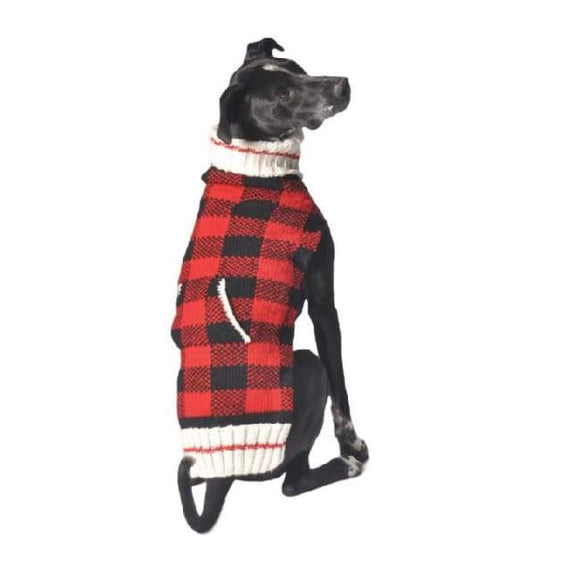 Warm Dog Sweaters - Warmest Sweater Buffalo Plaid Dog Sweater Great For Your Dog.