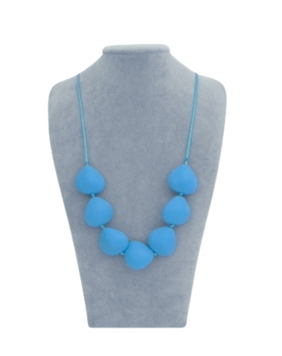 Petal Necklace in Bluebell