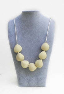 Petal Necklace in Vanilla Cream