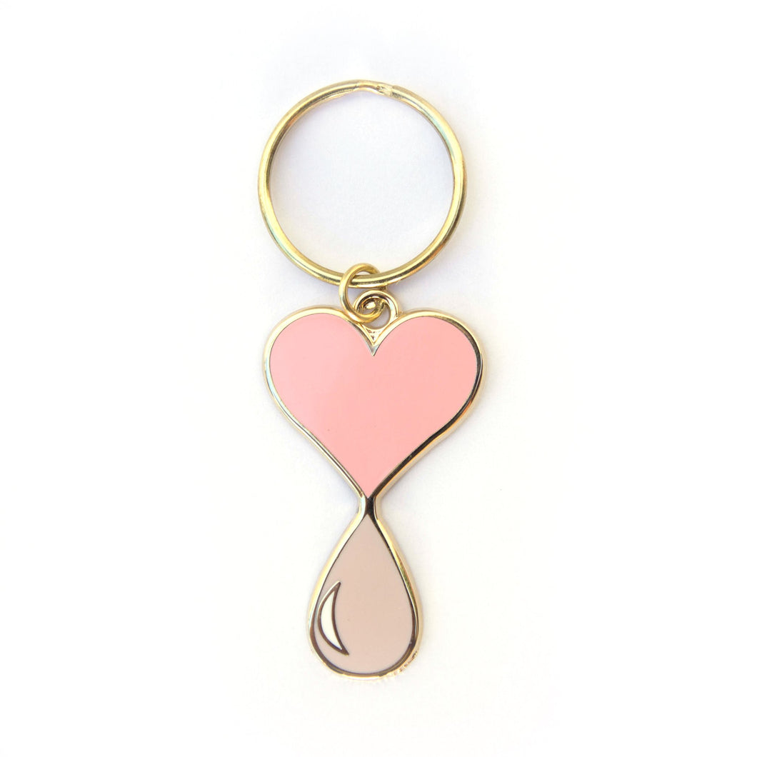Liquid Love Keyring