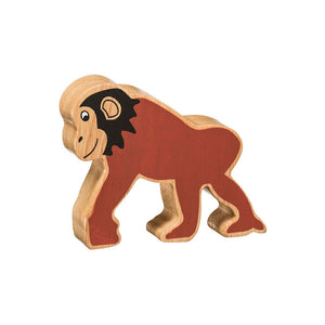 Lanka Kade Natural Painted Chimpanzee | Lanka Kade Fairtrade Toys | Lanka Kade Stockist