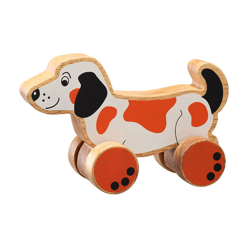 Lanka Kade Dog Push Along | Lanka Kade Fairtrade Toys | Lanka Kade Stockist