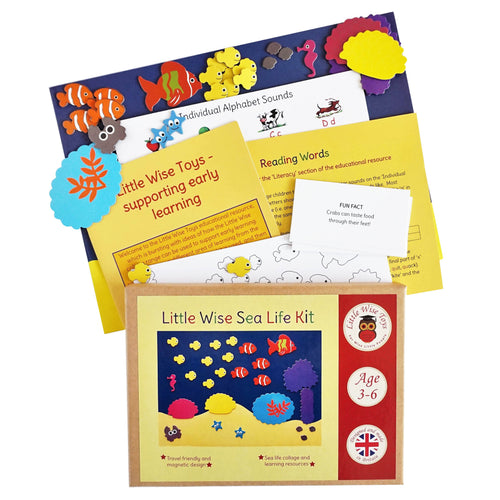 Little Wise Sea Life Kit | Educational Toys | UK Stockist Little Wise Toys