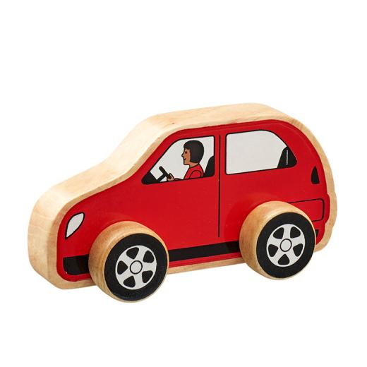Lanka Kade Red Car | Lanka Kade Fairtrade Toys | Lanka Kade Stockist