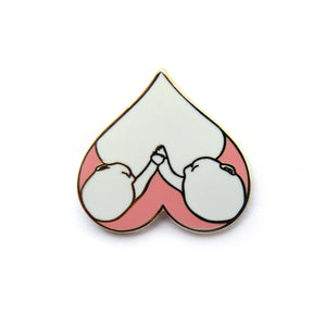 Twin Nursing Love Pin