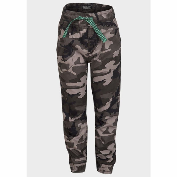Boys Army Camo Cargo Combat Trousers (1-4yrs), Trousers, Life and Legend - karacentral