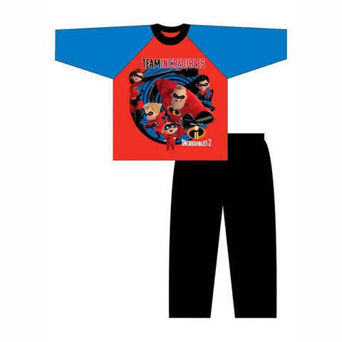 Boys Incredibles Pyjamas, Pjs/Pyjamas, Disney Pixar - karacentral