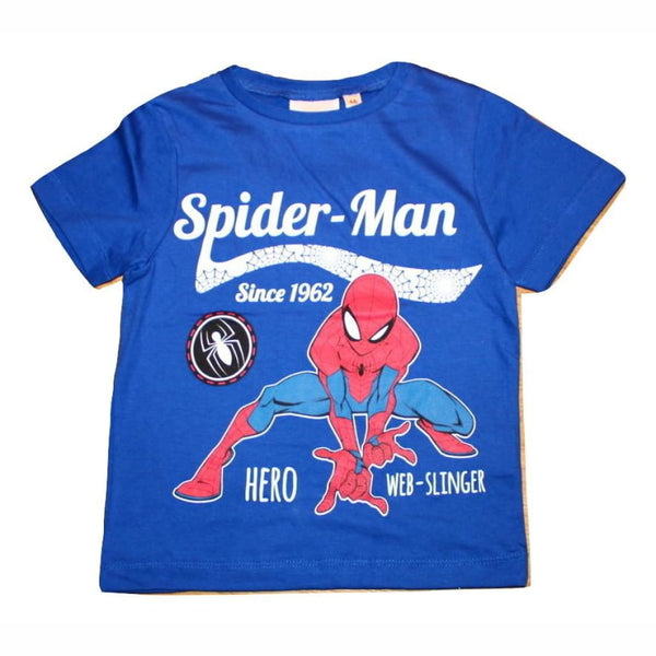 Boys Licensed Marvel Spider-Man T-Shirt, T Shirt, Marvel - karacentral
