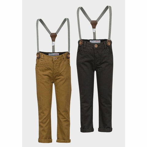 Boys Minoti Trousers With Braces, Trousers, Minoti - karacentral