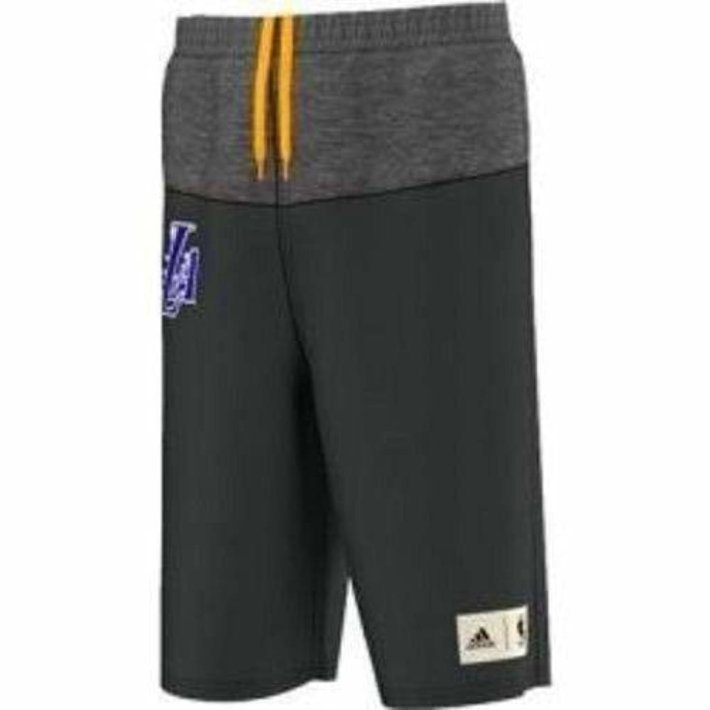 Boys NBA Adidas Basketball Shorts LA Lakers (5-8yrs), Sportswear, Adidas - karacentral