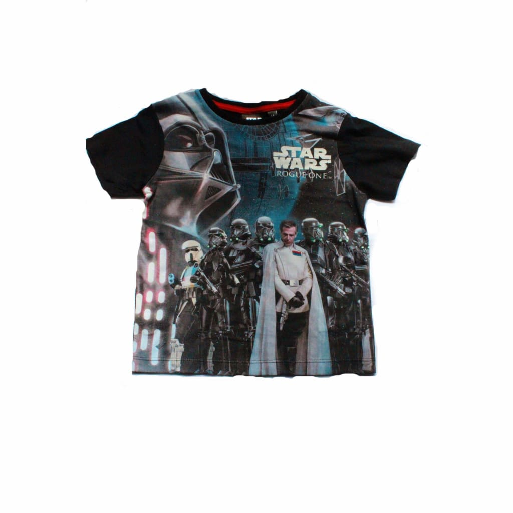 d33a4e31 karacentral - Boys Star Wars Rogue One T Shirt (3-10yrs)