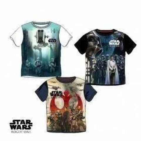 Boys Star Wars 'Rogue One' T Shirt (3-10yrs), T-Shirts & Tops, Disney - karacentral