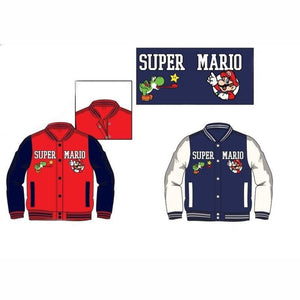 Boys Super Mario Jacket (2-8yrs), Coats, Jackets & Snowsuits, Super Mario - karacentral