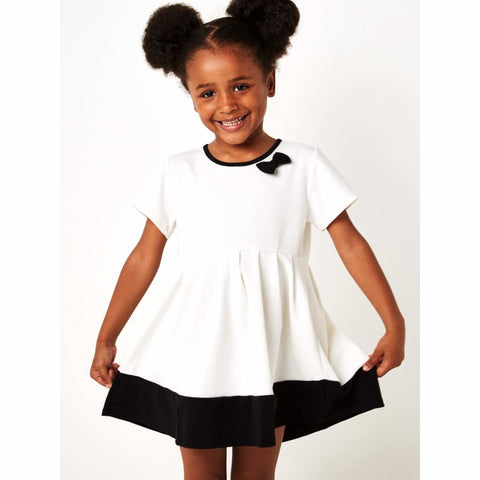Girls Classic Style Cream Summer Dress (2-8yrs), Dresses, Sugar Squad - karacentral