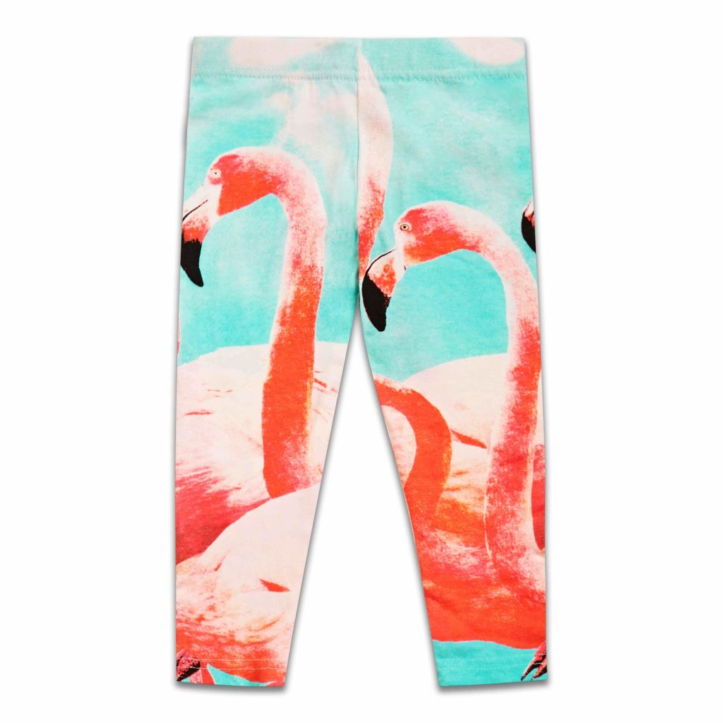 Girls Flamingo Leggings/Trousers By Sugar Squad (2-8yrs), Leggings, Sugar Squad - karacentral