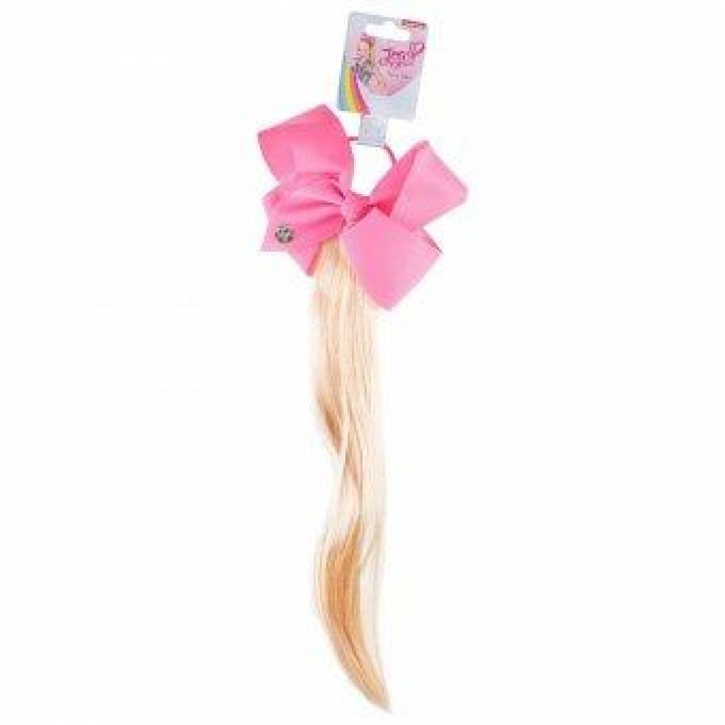 Girls Jojo Siwa Faux Hair Bow Bobble Accessory, Hair Accessory, Nickelodeon - karacentral