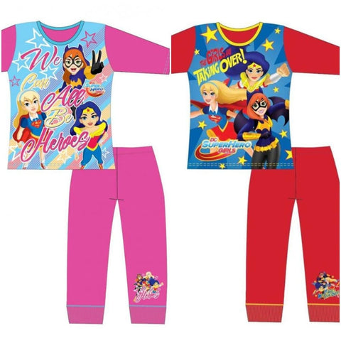 Girls Official DC Comics Super Hero Pjs, Pjs/Pyjamas, DC Comics - karacentral