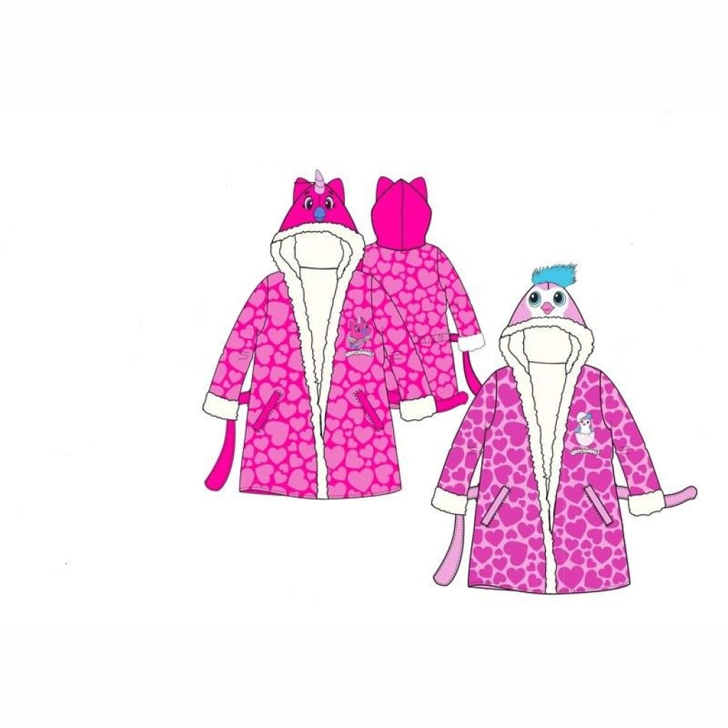 Girls Official Hatchimal Dressing Gown, Dressing Gown, Hatchimals - karacentral