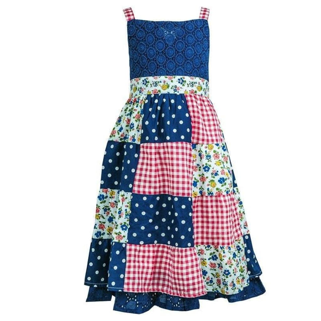 Girls Patchwork Dresses (2-7yrs), Dresses, Chloe Louise - karacentral