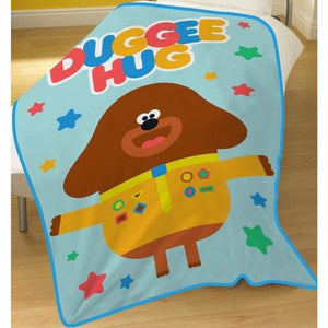 Hey Duggee Fleece Snuggle Blanket, Fleece Blanket, Hey Duggee - karacentral