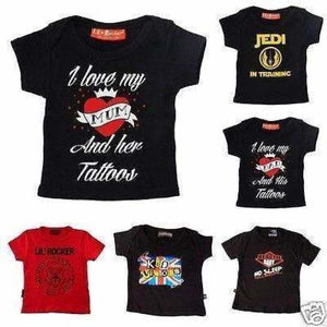 Kids Alternative T Shirts (0-6yrs), T-Shirts & Tops, Darkside Clothing - karacentral