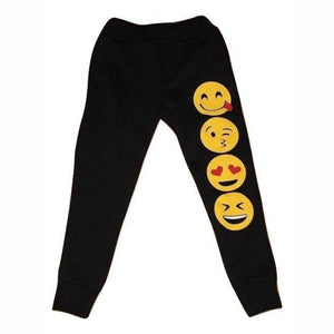Kids Emoji Jogger Bottoms, Jogger Bottoms, Chic London - karacentral