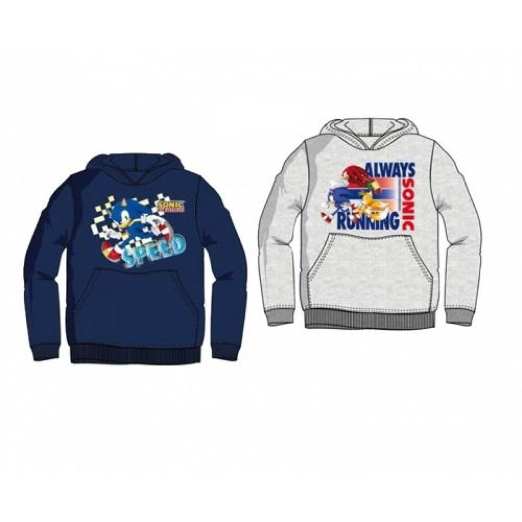 Kids Sonic The Hedgehog Hoodie, Hoodie, Sonic The Hedgehog - karacentral