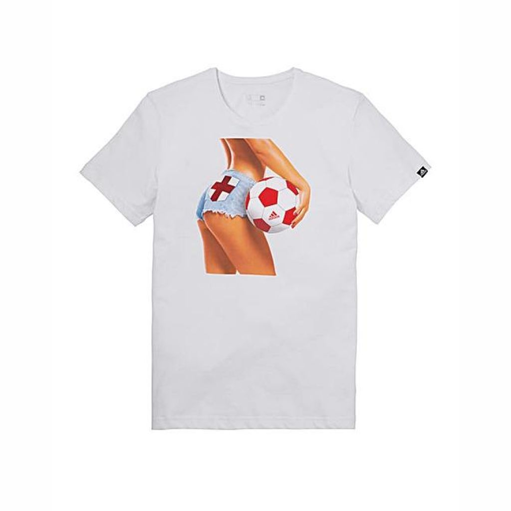 Mens Adidas England Football Fan T-Shirt S T-Shirts & Tops