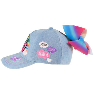 Official JOJO SIWA Denim Bow Hat, Hats, Nickelodeon - karacentral