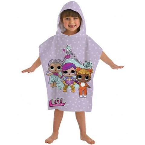 Official L.O.L Surprise Hooded Towel Poncho, Towel/Poncho, L.O.L Surprise - karacentral