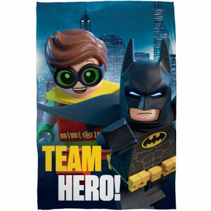 Official Lego Batman Fleece Blanket, Fleece Blanket, Lego Batman - karacentral