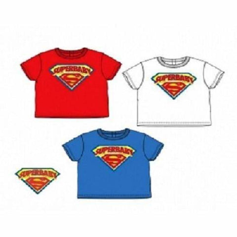 Unisex Baby Superbaby T-Shirt (3-23Mths) T-Shirts & Tops