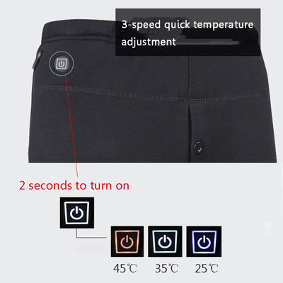 heated pants 3 modes