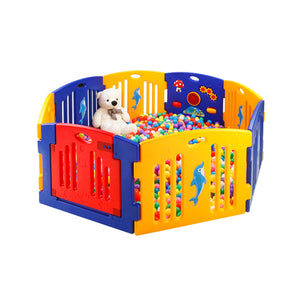 Extra Playpen Panel - Yellow