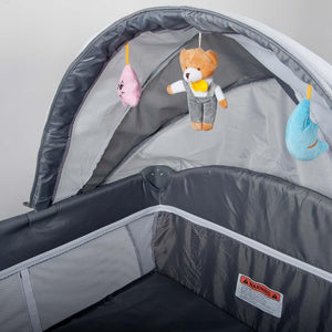 Sleepy Camp Cot - Grey
