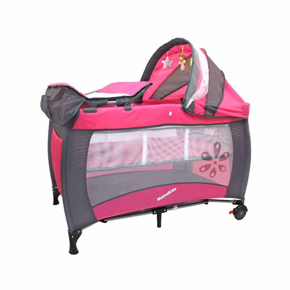 Sleepy Camp Cot - Rose (Stock due early Sept)