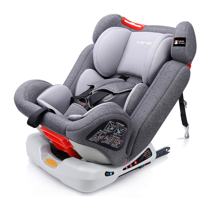 Orbit 360 Convertible Isofix Car Seat - Group 0123 - Grey