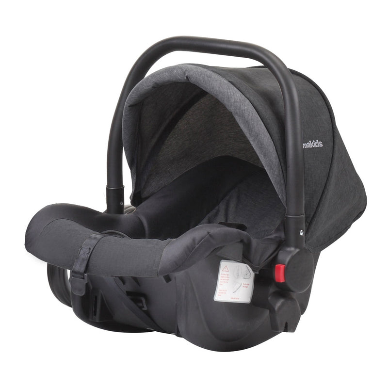Luna Infant Car Seat - Group 0+ - Black & Grey